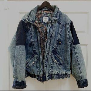 Vintage American Weekend Oversized Denim Jacket